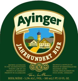 Ayinger Jahrhundert-Bier (Germany)