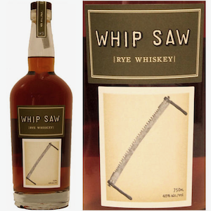 Whip Saw Rye Whiskey