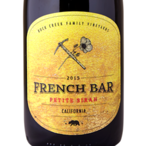 French Bar Petite Sirah California 2015