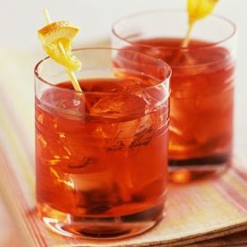 Negronis are never a bad way to start.