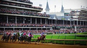 The Kentucky Derby at Churchill Downs