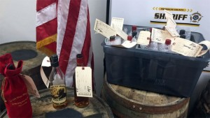 Not a Great Bourbon Bar, rather stolen goods in the Franklin County Sheriff's possession