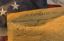 The Declaration of Independence gave birth to Revolution and a Nation