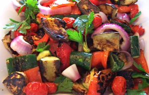 Grilled Ratatouille is the perfect summer side dish