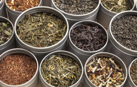 Tea Has Many Grades, Colors, and Leaf Sizes