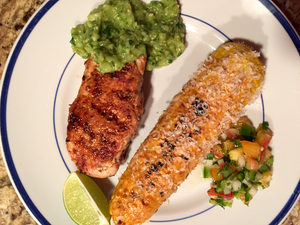 Tequila Pork with Tomatillo Salsa