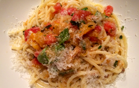 Fresh Tomatoes and Pasta Celebrate the season