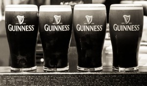 Guinness – it's time for a pint