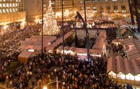 The Christkindlmarket in Chicago