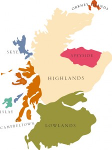 Mapping Scotch Whisky Regions