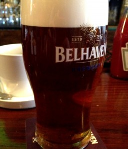 A Beautiful Pint of Scottish Ale