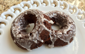 Tasty Stout & Chocolate Doughnuts