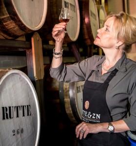 Rutte's Master Distiller, Myriam Hendrickx.