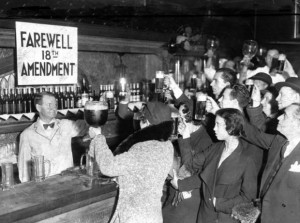 Celebrating the 21st Amendment – Repeal of Prohibition