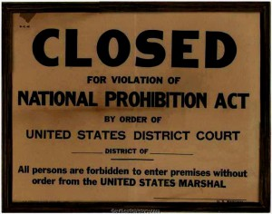 Prohibition was repealed but not fully remedied